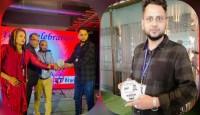 DMG-গ্রুপ এর পক্ষ থেকে সোহেল রানা'কে সম্মাননা প্রদান