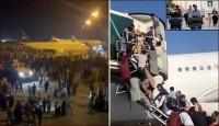 আফগান ছাড়তে কাবুল বিমান বন্দরে মানুষের ঢল (ভিডিও)