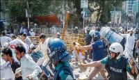 কুমিল্লার ঘটনাকে কেন্দ্র করে ফের সংঘর্ষ, ৪ হাজার জনের বিরুদ্ধে মামলা