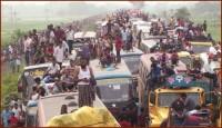 বঙ্গবন্ধু সেতু মহাসড়কে ৩৫কিমি যানযট, বাড়ি ফিরা নিয়ে দুশ্চিন্তায় উত্তরাঞ্চলগামী মানুষ