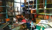 বেনাপোল বাজারে চুড়িপট্টিতে ভয়াবহ আগুনে ১০টি দোকান পুড়ে ছাই