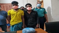 Two arrested with half a kg of cannabis in Gazipur